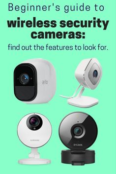A Beginners Guide to Wireless Security Cameras for Home - Home Security Camera - Ideas of Home Security Camera - If you're looking for wireless security cameras our new helpful beginner's guide lists the important features to look for. Best Security Cameras, Smart Home Security, Wireless Security Cameras, Wireless Home Security Systems, Security Surveillance, Security Alarm, Safety And Security, Security Service, Surveillance System