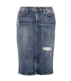 1fc96cf96ec1d7 Current/Elliott Denim Jeans, Jacket for Women| IFCHIC.COM. High Waisted  Denim SkirtDenim Pencil ...