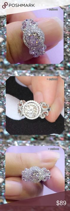 JUST IN🆕3ct Oval 925 Silver White Sapphire Ring Gorgeous Oval Cut 3ct Wedding Ring Material: 925 Silver (Stamped 925) Main Stone: White Sapphire CZ Stone Weight: 3CT Main Stone Size: 8mm*8mm&1.5mm*1.5mm Ring Box: Yes Ring Size: 5   💠💠PRICE FIRM UNLESS BUNDLED💠💠  ⭐️⭐️SORRY NO TRADES AND LOWBALL OFFERS WILL BE IGNORED ⭐️⭐️  ✂️LOWBALL OFFERS WILL BE IGNORED✂️ Glam Squad 2 You Jewelry Rings