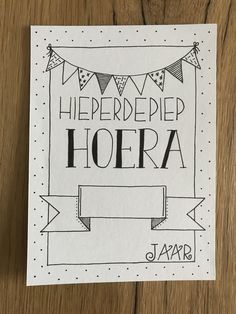 Made by Mariska Journal Fonts, Bullet Journal Notes, Hand Lettering Quotes, Doodle Lettering, Handlettering Happy Birthday, Birthday Card Drawing, Doodle Art Drawing, Birthday Letters, Bday Cards