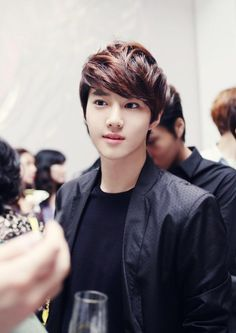120524 World of Calvin Klein in Seoul - SUHO V: EXO-E.T.TEAM