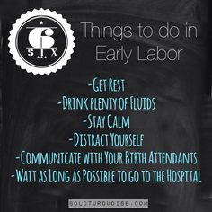 6 ways to handle early labor Stuff To Do, Things To Do, Baby Things, Early Labor, Birth Doula, How To Become, How To Get, Prenatal Yoga, Natural Birth