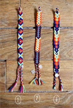 Cute friendship bracelets ! :3