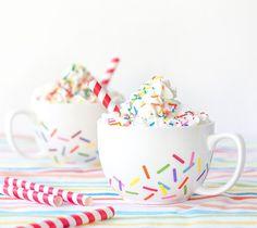 Sprinkle Mugs #cricut #craft