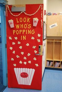 Make the first day back to school a blast with these creative classroom door ideas! You'll be the star teacher with these classroom hallway decorations! Preschool Bulletin, Classroom Bulletin Boards, School Classroom, Welcome Door Classroom, Kindergarten Door, Preschool Circus, Preschool Class, Future Classroom, Classroom Displays