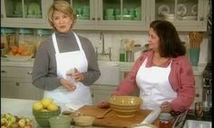 Martha Stewart is joined by Lily Fable of the Poseidon Greek Bakery, to bake a quick apple dessert using her paper thin phyllo dough.