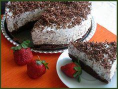 Osvěžující straciatella recept - TopRecepty.cz Tiramisu, Cheesecake, Ethnic Recipes, Food, Festive, Cakes, Sugar, Treats, Cheesecakes
