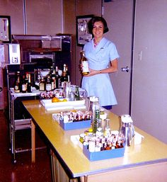 1960s Woman Cocktail Bar Waitress Party Catering Server Vintage Photo | by Christian Montone