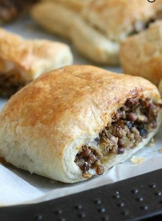 Vegetarian Lentil (Sausage) Rolls