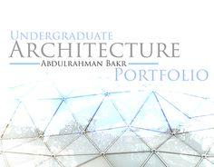 "Check out new work on my @Behance portfolio: ""Undergraduate Architecture Portfolio"" http://be.net/gallery/32243397/Undergraduate-Architecture-Portfolio"