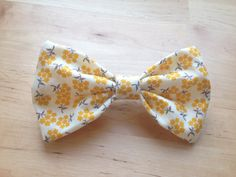 Adorable bows, and they are for charity.