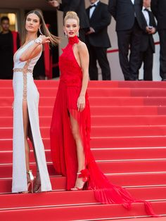 Alessandra Ambrosio Is VERY Excited to See Rosie Huntington-Whiteley's Baby Bump