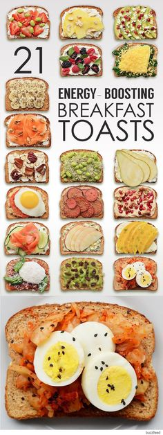 ENERGY - BOOSTING BREAKFAST TOASTS 21