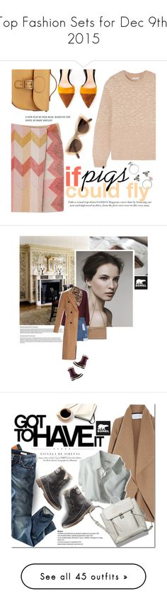 """""""Top Fashion Sets for Dec 9th, 2015"""" by polyvore ❤ liked on Polyvore featuring See by Chloé, Gianvito Rossi, Brit-Stitch, Quay, SOREL, rag & bone, casualoutfit, everyday, Sorel and sorelstyle"""