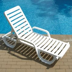 Water in Pool Chaise Lounge Chairs | Outdoor Furniture in ...