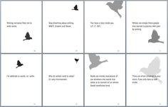 """Writing nonsense frees me to write sense."" Ksenia Anske, 'Blue Sparrow': https://twitter.com/kseniaanske/status/332623537015767041 #creativewriting"