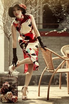 #China #qipao RP by splashtablet.com, the cool iPad for showering with your tablet ;)