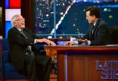 Bernie Sanders made an entertaining yet instructive appearance on The Late Show on Friday night, faring much better in the politically-essential late-night joking than Hillary Clinton, Jeb Bush, and Donald Trump have thus far.