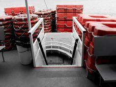#boat #lake #trasimeno #umbria #italy #lifesavers #red #white #stairs