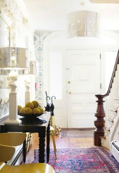 Another colorful foyer