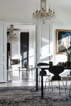 Interiors | A Glamorous Apartment                                                                                                                                                                                 More