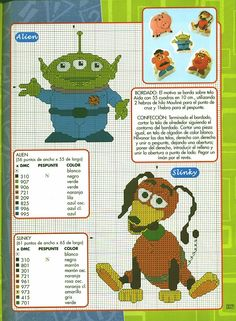 Free Disney toy sstory Cross Stitch Patterns | Gallery.ru / Фото #25 - punto de cruz Disney 7 - anfisa1 Toy Story
