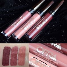 ▶ New Ofra x @mannymua733 Liquid Lipstick swatches