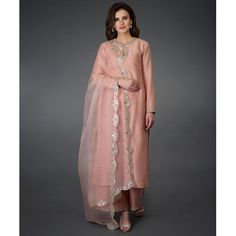 Pressed Rose Gota Patti and Mirror Work Farshi Palazzo Suit Dress Indian Style, Indian Fashion Dresses, Indian Outfits, Muslim Fashion, Embroidery Suits, Embroidery Designs, Indian Salwar Suit, Pakistani Suits, Pakistani Salwar Kameez