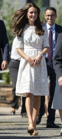 The Duchess of Cambridge on her visit the Royal Easter Show at Sydney Olympic Park. 18 Apr 2014