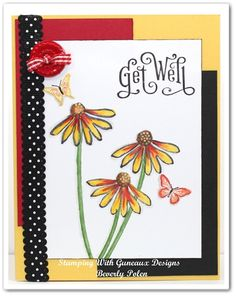 Stampin' Up! Get Well Card
