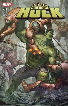 The Totally Awesome Hulk n°18 (19.04.2017) #totallyawesomehulk #thehulk #marvel #comics