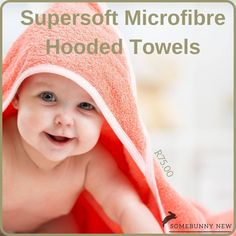 Snuggletime Super Soft Hooded Towel is a baby bath towel for everyday use - it's luxuriously soft and absorbent (100% microfibre polyester) and also perfectly designed to dry and wrap baby after bath. #snuggletime #bathtime #hoodedtowel #microfibre #instore #canalcrossing #potchefstroom #somebunnynew After Bath, Bath Time, Snuggles, Bath Towels, Hoods, Crochet Hats, Van, Knitting Hats, Cowls