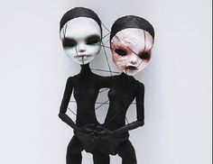 Monster high ooak canjoined twins