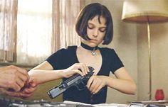 Natalie Portman @ Leon: The Professional (Love that movie!)