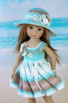 Modern Doll Clothes & Fashion Accs for sale Knitting Dolls Clothes, Crochet Doll Clothes, Knitted Dolls, Doll Clothes Patterns, Girl Doll Clothes, Crochet Dolls, Doll Patterns, Girl Dolls, Baby Dolls