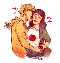 Find images and videos about miraculous ladybug, Adrien and adrien agreste on We Heart It - the app to get lost in what you love. Miraculous Ladybug Fanfiction, Miraculous Ladybug Fan Art, Miraculous Kiss, Comics Ladybug, Miraclous Ladybug, Lady Bug, Adrien X Marinette, Sapo Meme, Marinette Ladybug