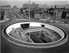 Furnival Gate Underpass, Sheffield 1968 #socialsheffield #sheffield