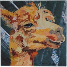 Love the background quilting too! Arturo by Barbara Yates Beasley