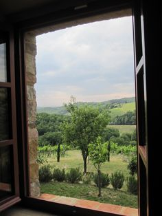 View from room in Tuscany...it doesn't get much better than that!