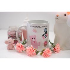 """le mug """"fille à douceur"""" by Natacha Birds"""