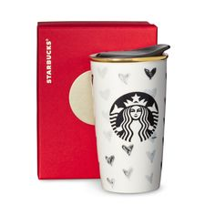 Tasse isotherme à double paroi — Coeur noir, 12oz liq. | Boutique Starbucks® Canada (CA)