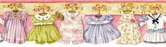 My Decoupage Sheets (page Clipart Baby, Baby Prints, Fun Prints, Rose Wallpaper, Wallpaper Borders, Beautiful Wallpaper, Vintage Borders, Design Repeats, Borders For Paper