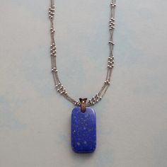 INFINITE BLUE NECKLACE: View 1