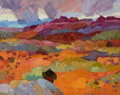"Larisa Aukon at Mirada Fine Art, 'Bring Heaven Down to Earth,' Original Oil on Panel, 16"" x 20"""