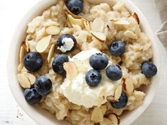 Learn how to make Lemon-Blueberry with Mascarpone Oatmeal . MyRecipes has 70,000+ tested recipes and videos to help you be a better cook