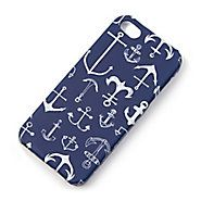 Anchor Print Cover for iPhone 5 and 5s