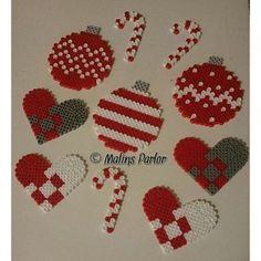 Christmas hama beads by malins.parlor: