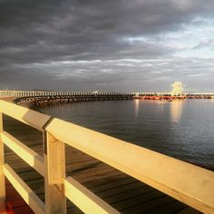 #easternbeach #geelong #waterfront #thebeachhouse #sunset #geelongrevival by thebeachhouse http://ift.tt/1JtS0vo