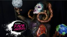 """Gefällt 70 Mal, 4 Kommentare - Leonie Lavender (@leonieandherlavender) auf Instagram: """"🌙MARS' HEART OF THE PLANET MANIAC 🌙  This is my look for the 1st challenge of the NYX Face Awards…"""" Face Awards, Beauty Make Up, Nyx, Body Painting, Mars, Lavender, Challenge, Instagram Posts, Bodypainting"""