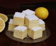 Prajitura Alba ca Zapada- DesertdeCasa.ro -Maria POPA Houses, Food, Bebe